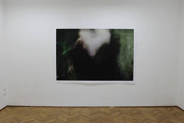 Bettina Gorn, Im Heu, Fotoprint auf Fineartpapier