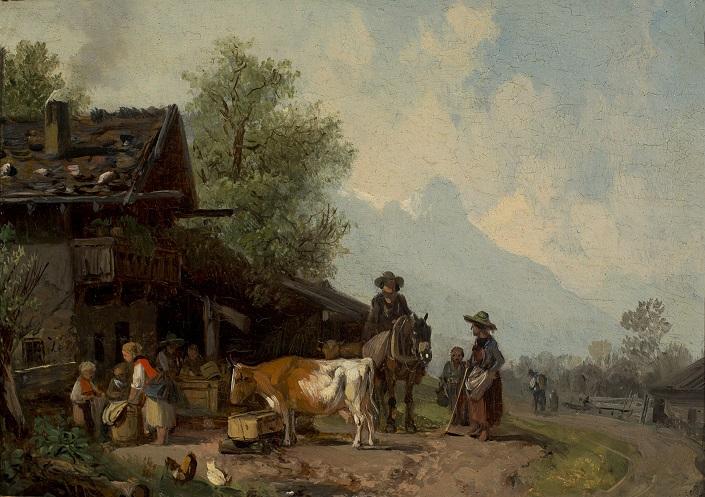 Maler Rosenheim ansicht galerie rosenheim